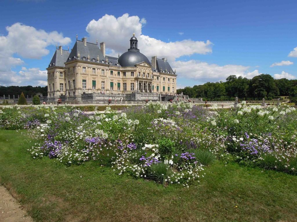 Image De Parterre De Fleurs parterre de fleurs juillet - château de vaux-le-vicomte