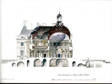 The château's architecture (C) Cyril Bordier