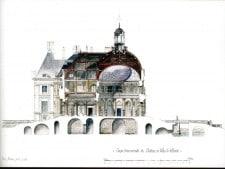 The château's architecture (C) Cyril Bordier