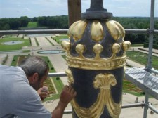restauration lanternon dôme