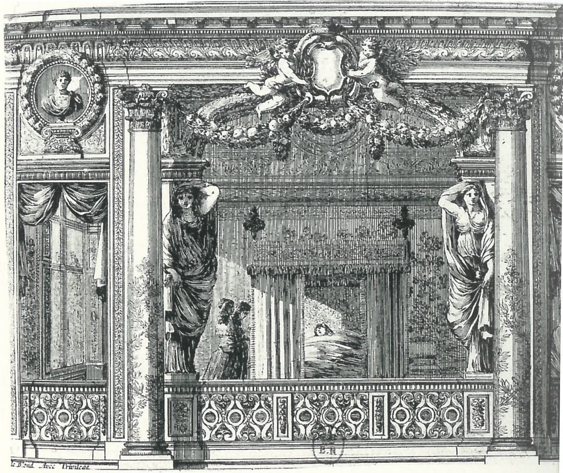 alcove-de-la-chambre-des-muses-gravure-par-jean-le-pautre - Château ...