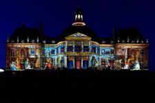 Projection monumentale Noël Lumières