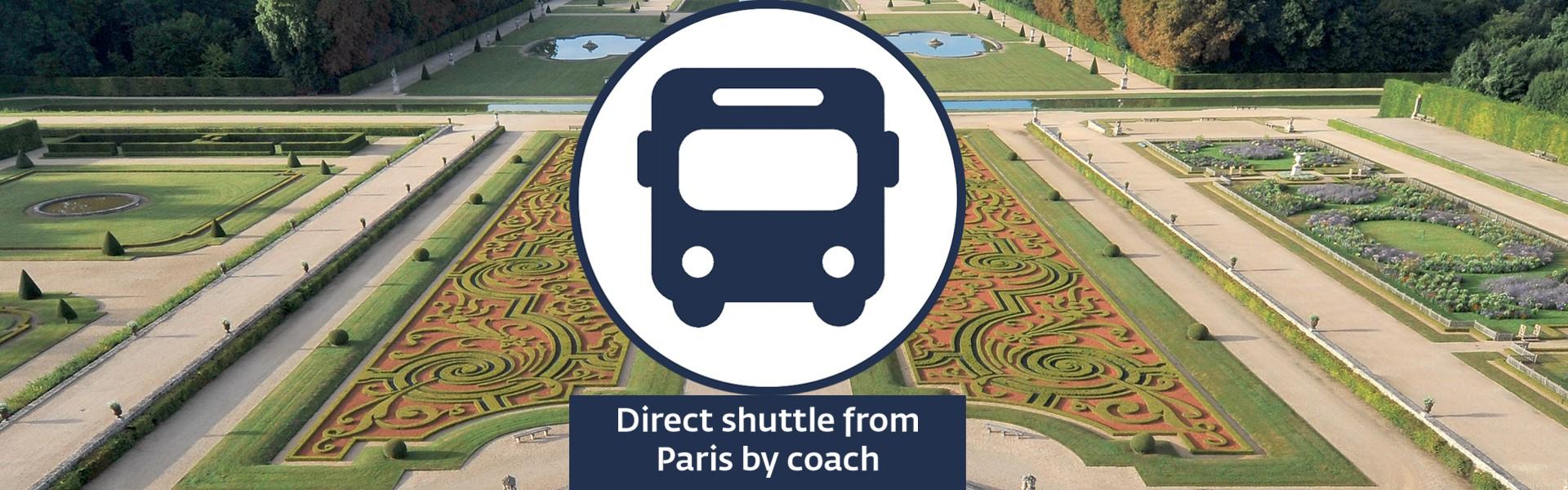 shuttle transport from Paris