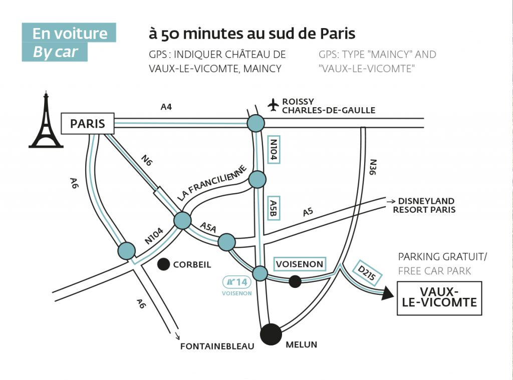 map from Paris