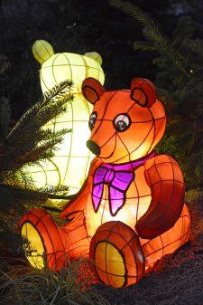 Noël lanternes jouets ourson (C) Conseil Départemental de la Moselle